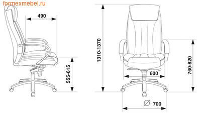 Кресло руководителя Бюрократ T-9922SL (фото, вид 3)