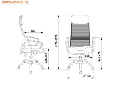 Компьютерное кресло Бюрократ KB-6N (фото, вид 3)