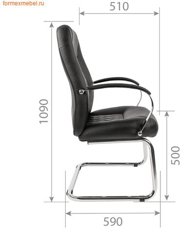 Кресло для посетителей офисное Chairman CH-950V (фото, вид 1)