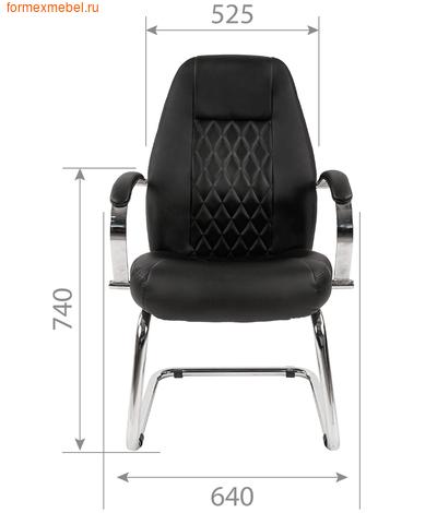 Кресло для посетителей офисное Chairman CH-950V (фото, вид 2)
