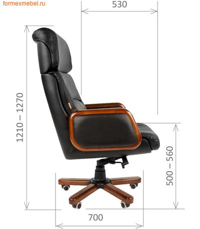 Кресло руководителя Chairman CH 417 (фото, вид 1)