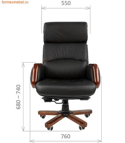 Кресло руководителя Chairman CH 417 (фото, вид 2)