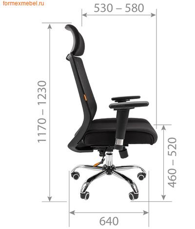 Компьютерное кресло Chairman СН-555Lux (фото, вид 1)