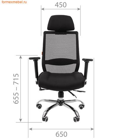 Компьютерное кресло Chairman СН-555Lux (фото, вид 2)