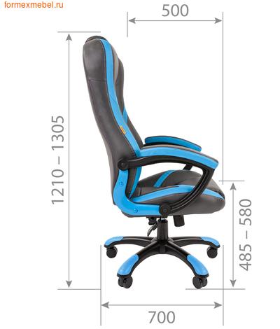 Компьютерное игровое кресло Chairman Game 22 (фото, вид 1)