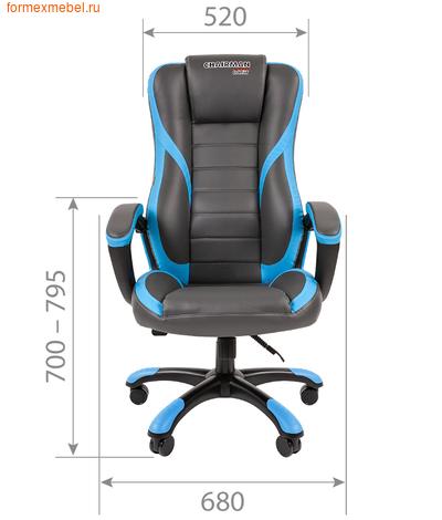 Компьютерное игровое кресло Chairman Game 22 (фото, вид 2)