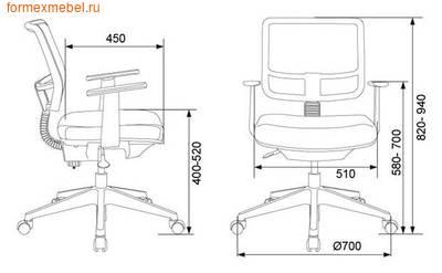 Компьютерное кресло Бюрократ CH-535 (фото, вид 4)