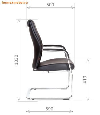 Кресло для посетителей офисное Chairman VistaV (фото, вид 1)