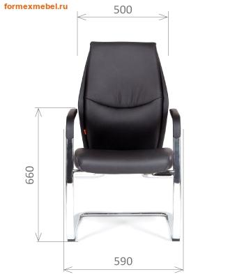 Кресло для посетителей офисное Chairman VistaV (фото, вид 2)