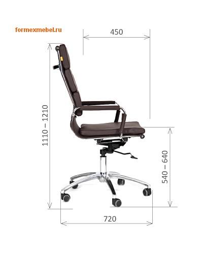 Компьютерное кресло Chairman CH-750 (фото, вид 3)