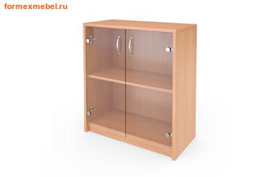 Шкаф для документов А-302/стл302  низкий со стеклом