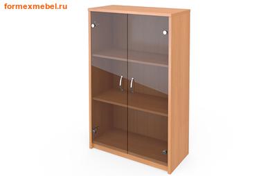 Шкаф для документов А-304/стл304  средний со стеклом