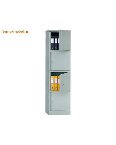 Шкаф металлический для документов Практик АМ-1845/4 (Пенал)
