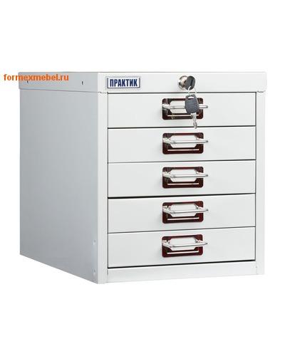 Многоящичный картотечный металлический шкаф Практик MDC-A4/315/5