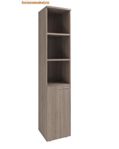 Шкаф для документов KB208 узкий полуоткрытый (фото)