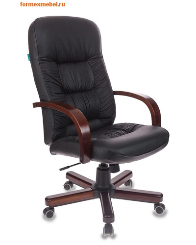 Кресло руководителя Бюрократ T-9908/Walnut (фото)