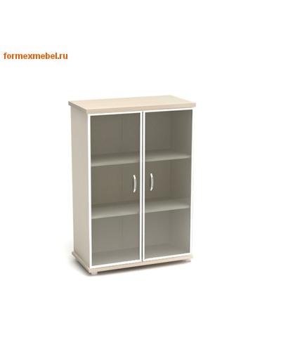 Шкаф для документов К55 средний со стеклом (фото)