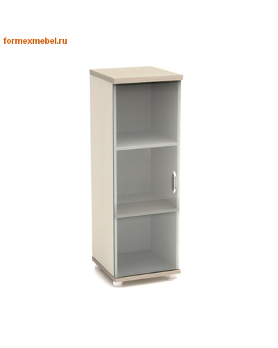 Шкаф для документов К56 узкий средний со стеклом (фото)