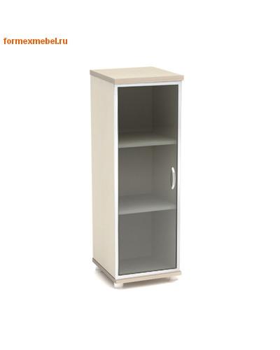 Шкаф для документов К54 узкий средний со стеклом (фото)