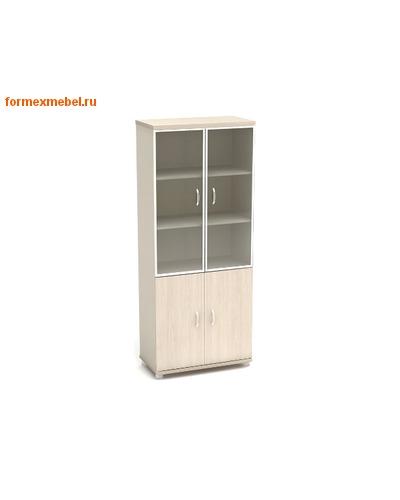 Шкаф для документов К57 со стеклом в алюминиевом профиле (фото)