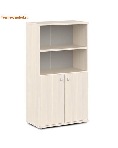 Шкаф для документов ЭКСПРО V-663 средний полузакрытый (фото)