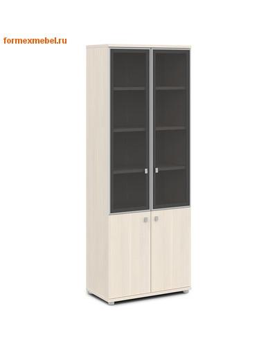 Шкаф для документов ЭКСПРО V-614 со стеклом (фото)