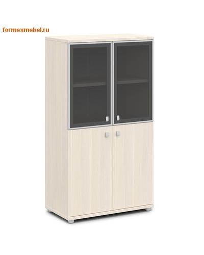 Шкаф для документов ЭКСПРО V-666 средний со стеклом (фото)