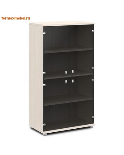 Шкаф для документов ЭКСПРО V-668 средний со стеклом (фото)