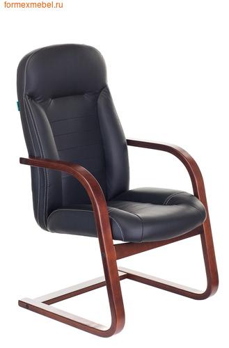 Кресло для посетителей офисное Бюрократ Т-9923Walnut-AV Bl (фото)