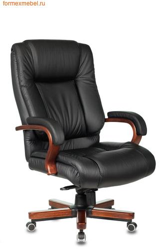 Кресло руководителя Бюрократ T-9925 Walnut Black (фото)