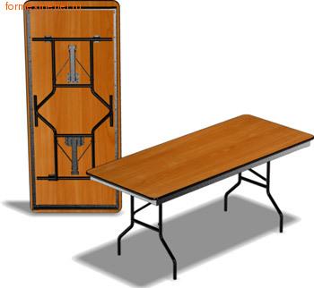 Стол складной СПД 189 180 см