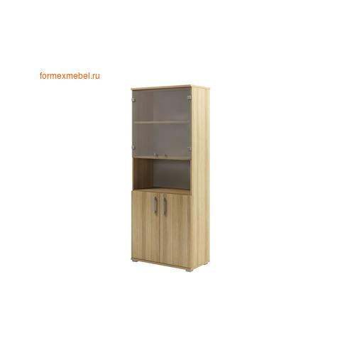 Шкаф для документов ЭКСПРО S-677 со стеклом