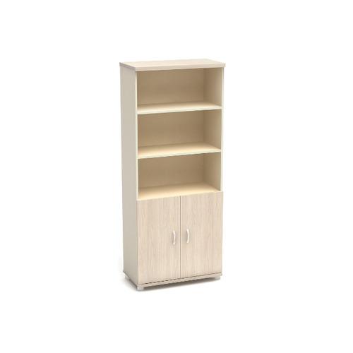 Шкаф для документов К4 широкий полуоткрытый