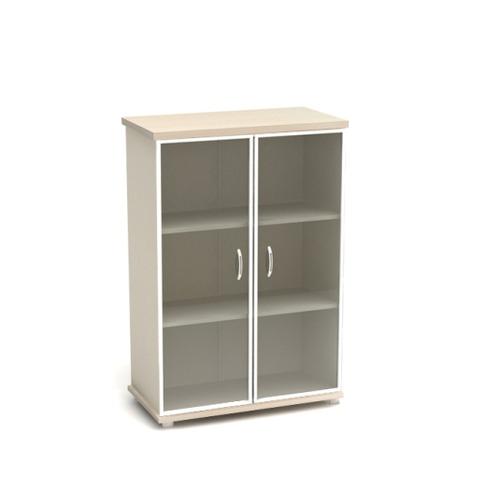 Шкаф для документов К55 средний со стеклом