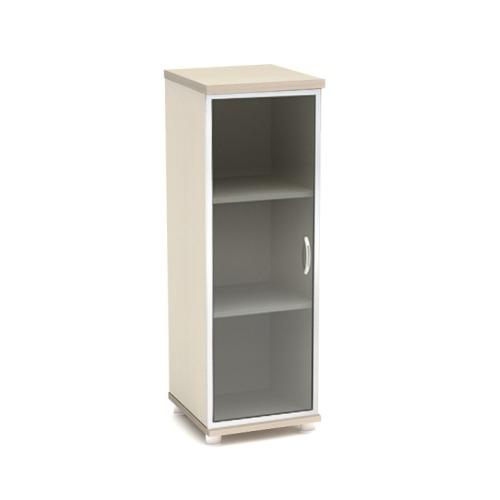 Шкаф для документов К54 узкий средний со стеклом