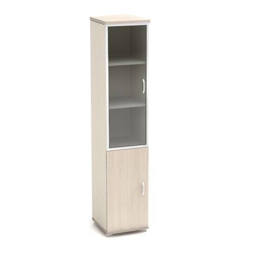 Шкаф для документов К59 узкий со стеклом