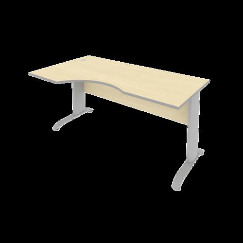 Стол рабочий эргономичный ПЛ.СА-1 Л 160 см