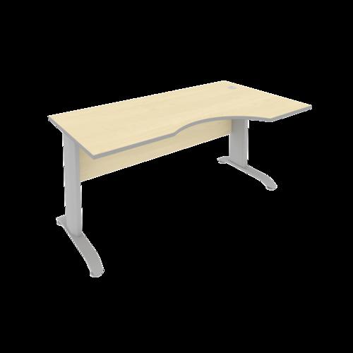 Стол рабочий эргономичный ПЛ.СА-1 Пр 160 см