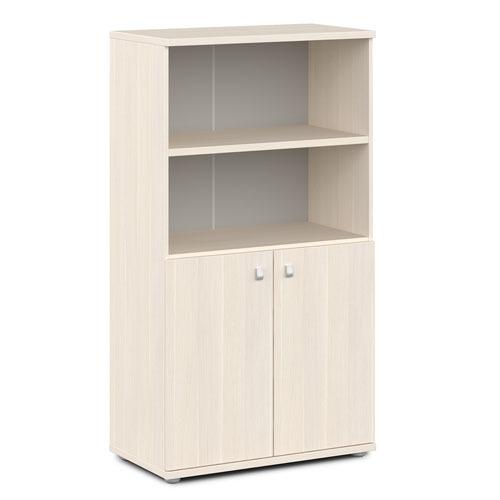 Шкаф для документов ЭКСПРО V-663 средний полузакрытый