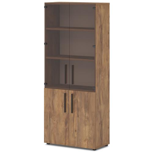 Шкаф для документов со стеклом Lavana T-674