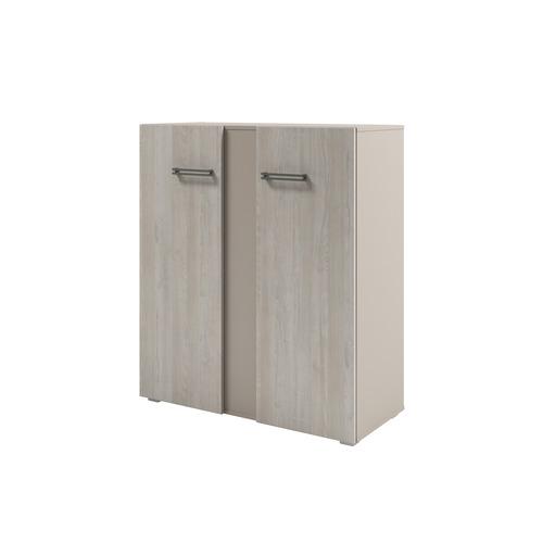 Шкаф для документов ЭКСПРО Solution D-76 средний, с планкой