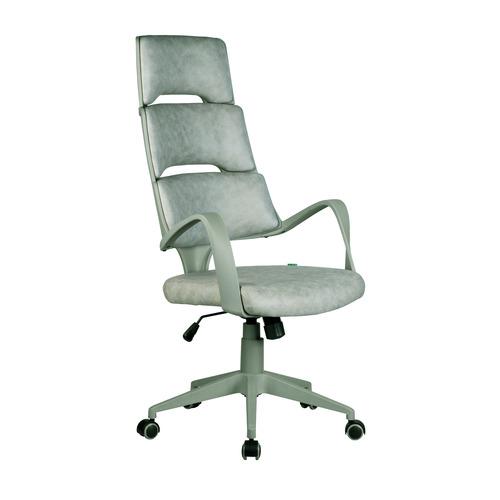 Компьютерное кресло Рива Sakura серый пластик