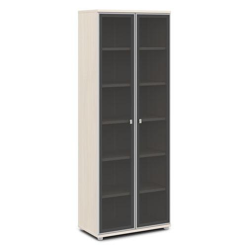 Шкаф для документов ЭКСПРО V -611 высокий со стеклом