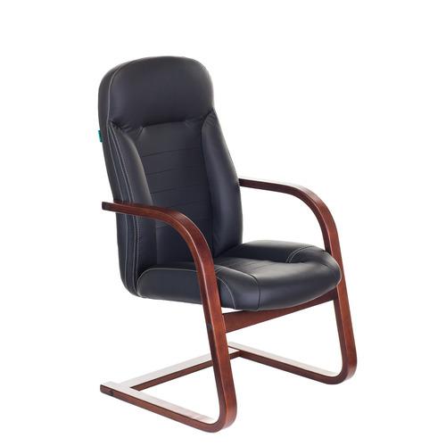 Кресло для посетителей офисное Бюрократ Т-9923Walnut-AV Bl