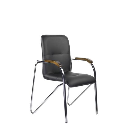 Стул офисный стул для посетителей САМБА Хром