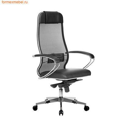 Кресло руководителя Samurai Comfort 1.01 черное (фото)