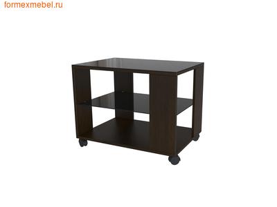 Стол журнальный Beauty Style 5 венге/черное стекло (фото)