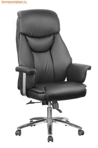 Кресло руководителя Рива RCH 9501 (экокожа) экокожа черная  (фото)