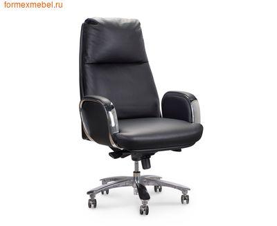 Кресло руководителя NORDEN СЕНАТ кожа черная (фото)