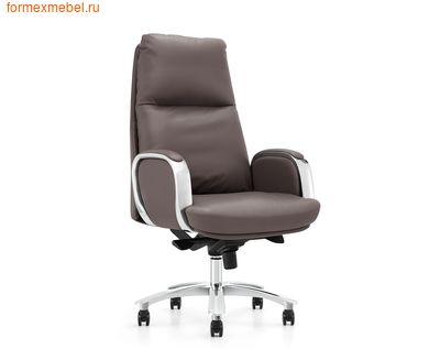 Кресло руководителя NORDEN СЕНАТ кожа коричневая (фото)
